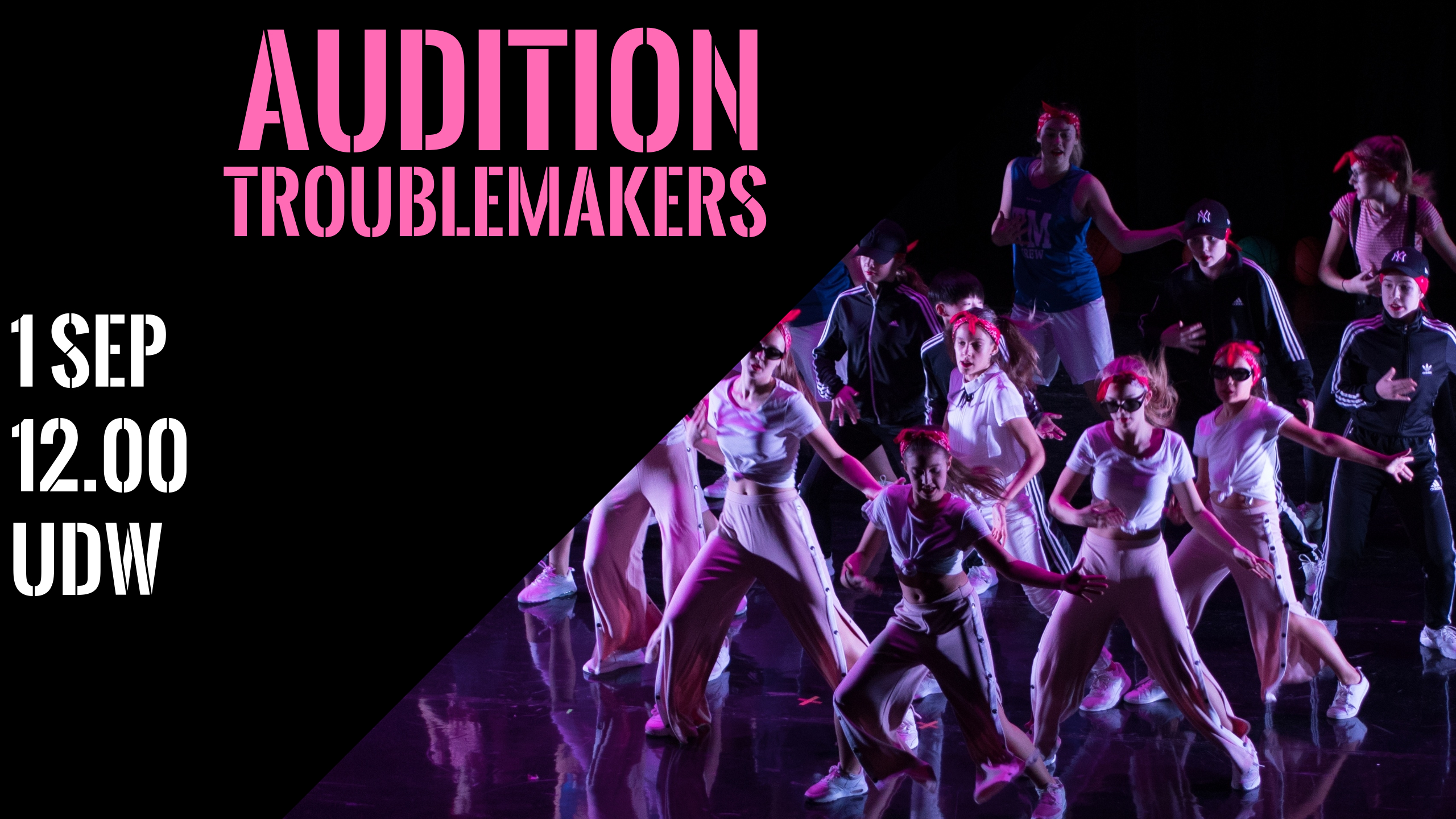 Audition TROUBLEMAKERS
